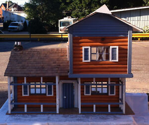 Hand-Crafted Doll House for Sale