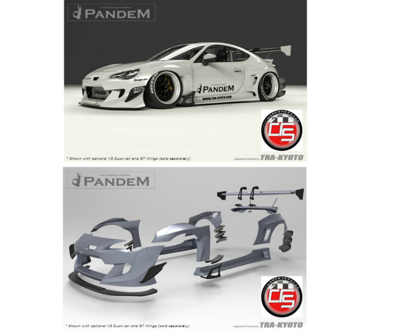 ROCKET BUNNY PANDEM SCION FRS SUBARU BRZ BODY KIT ...