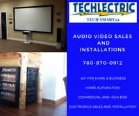 AUDIO VIDEO SALES & INSTALLATIONS