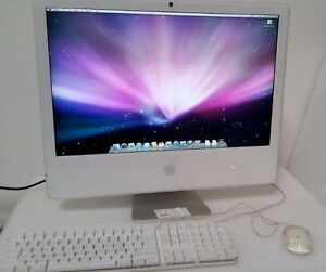 "Apple iMac with 24"" Display and iWork & iLife Applications"