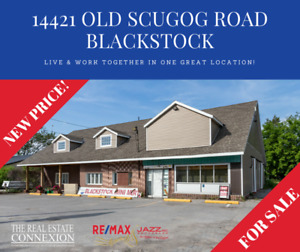 Amazing new price! Live & work together in beautiful Blackstock!