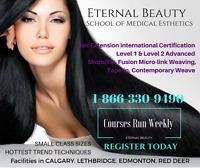 Hair Extension Trainig, Extensionist Certiification