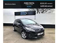 2009 FORD FIESTA 1.6 ZETEC S 3D 118 BHP, FINANCE AVAILABLE