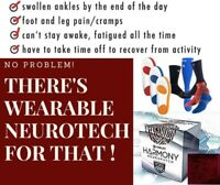 Do you suffer with SWOLLEN ANKLES - FOOT & LEG CRAMPS - PDN Pain