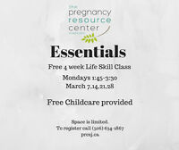 Essentials -Life Skill Classes With Free Childcare Provided