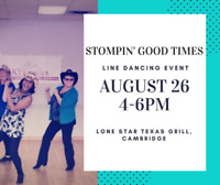 KW's BIGGEST LINE DANCING EVENT AUGUST 26TH 4-6 PM
