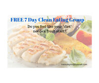 FREE 7 Day Clean Eating Group