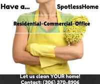 Have a SpotlessHome! 10+ Years of Experience