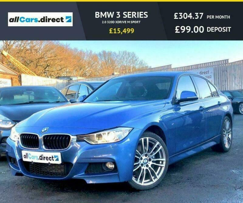 2015 65 BMW 3 SERIES 2.0 320D XDRIVE M SPORT DIESEL