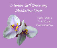 Intuitive Self Discovery Meditation Circle - Dec. 1