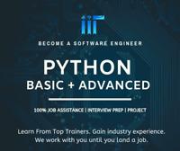 Python Developer Course! 100% Job Assistance + Project-Focus!