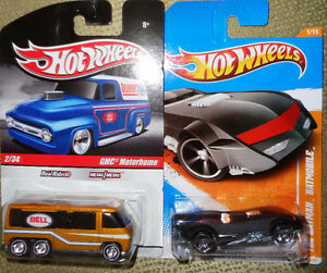 Hotwheels  Batman GMC Motorhome  Real Riders