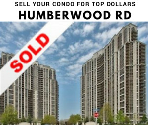 List your condo for 1% - 700 / 710 Humberwood Blvd