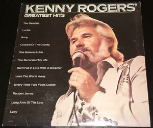 Old Records – the Everly Brothers and Kenny Rogers Kitchener / Waterloo Kitchener Area image 4