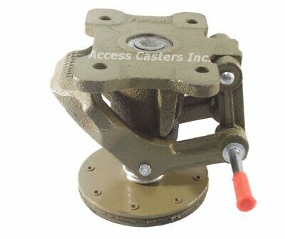 Ac-2727 4 Cast Iron Floor Lock Foot Operated 3-1116 X 5-38 Top Plate