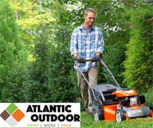 Push Mowers from Husqvarna, Ariens and Ducar at Atlantic Outdoor