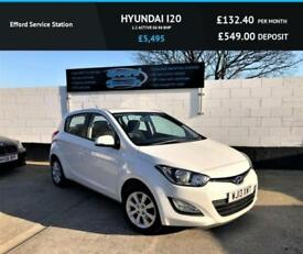 2013 13 HYUNDAI I20 1.2 ACTIVE 5D 84 BHP, PHONE CONNECTION, FINANCE AVAILABLE