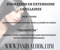 FORMATION EN EXTENSIONS DE CHEVEUX 365$