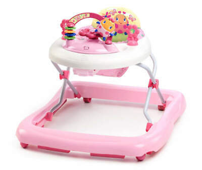 Bright Starts Pretty in Pink JuneBerry Delight Walk-A-Bout Baby Walker