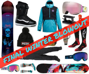Winter Blowout Sale! 30% Off All Boards, Jackets, Goggles & more