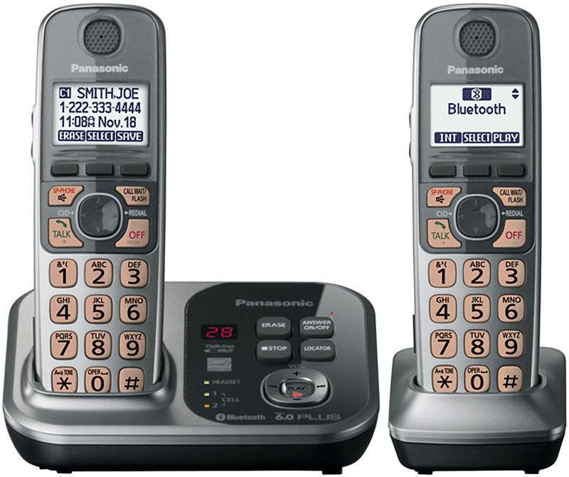 Panasonic KX-TG7732S Cordless Telephone
