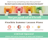 Summer Piano and Music Lessons!