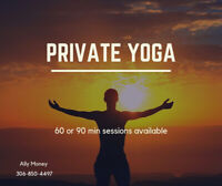 Private Yoga Healing Sessions