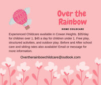 Childcare in Cowan Heights - $35/day!