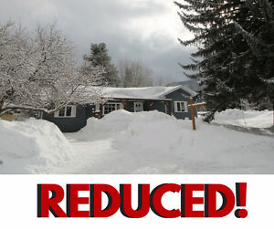 REDUCED!! Hard to beat the Location of this Downtown Fernie Home