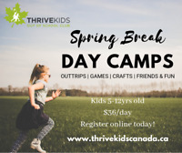 Thrive Spring Break Day Camps