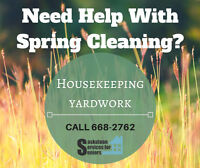 Housekeeping and Yard work Services