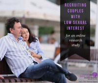 [Paid Couples Research Study] Men experiencing low sexual desire