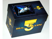 Babylon 5: The Complete collection - box of 5 seasons, spinoff series and movies of sci-fi series