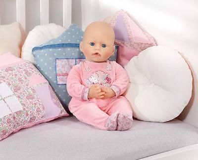 Zapf Creation 794548 Baby Annabell Strampler rosa mit Schaf  NEUHEIT 2016 OVP-