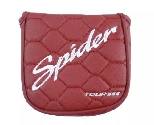 TaylorMade 2020 Spider Tour Mallet Heel Shaft Putter Headcov