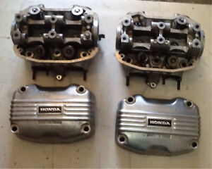 GL1000 Heads and Valve Cover