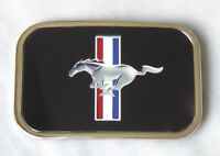 Black Ford Mustang 'rock Star' Belt Buckle Fits Most Belt Straps Cool Gift - ford - ebay.co.uk