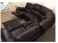 Leathaire recliner sofa