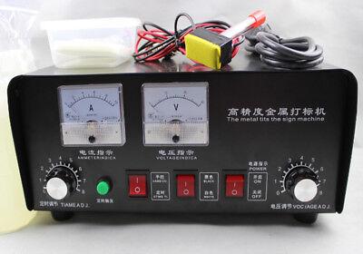 Electrochemical Etching Machine Electro-corrosion Various Metal Marking Machine