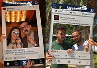 File Digitale Personalizzabile Per Cornice Instagram O Facebook Photo Booth 24h - facebook - ebay.it