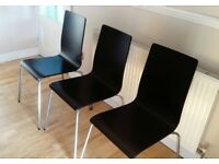 3 Ikea Martin dining chairs