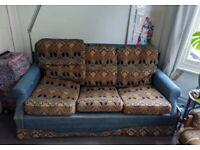 Liberty Print Sofa Bed