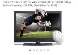 """Finlux 32"""" 3D LCD TV"""