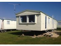 6 berth caravan for hire at Haven site Caister on sea