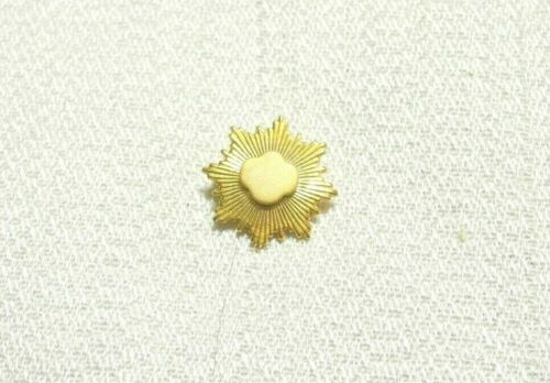 Girl Scout Gold Award Pin ~ 1/10 10K Gold Filled ~ Retired Rounded Trefoil Style