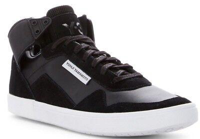 2230985d5  375 NIB Y-3 Yohji Yamamoto Adidas Kazuhuna Men s Fashion Mid Sneaker Black  ...