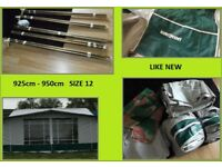 Caravan Awning 925 cm - 950 cm Size 12 And Bedroom Extension REDUCED.