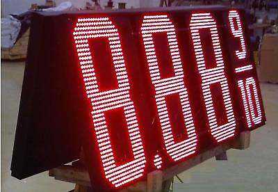 Led Gas Pricer-30- Red Electronic Sign Kit