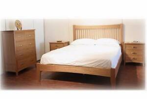 【Brand New】Carlos Tasmania Oak Bedroom Suite Queen/King from Nunawading Whitehorse Area Preview