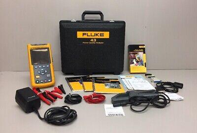 Fluke 43 Power Quality Analyzer Meter Fluke 80i-500s Case Accessories